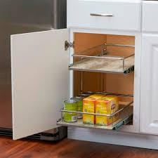 faux concrete kitchen cabinet organizer
