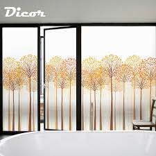 frosted window sticker pvc opaque