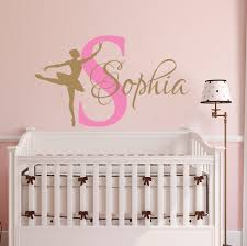 Decal House Dancing Nursery Ballet Personalized Name Wall Decal Reviews Wayfair
