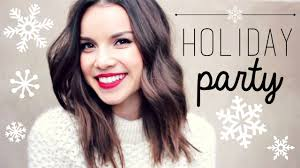 holiday party makeup outfit ideas