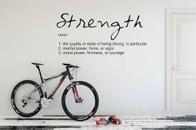 Strength Noun Definition Wall Decal