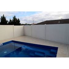 Slenderline 2400 X 900 X 50mm Modular Fencing Panel Swimming Pools Backyard Fence Design Fence