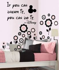 Amazon Com Decor Vinyl Store If You Can Dream It You Can Do It Wall Decal 14 Wide X 20 High Black Or White Disney Quote Walt Disney Decal Home Kitchen
