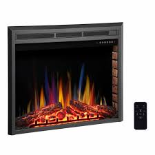 r w flame electric fireplace insert
