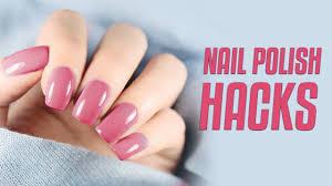 how to apply perfect nail polish nail
