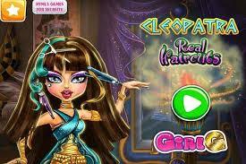 cleopatra real haircuts make up games