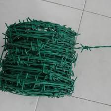Pvc Coated Barbed Fencing Wire Size 12 X 12 Swg Rs 55 Kilogram Varun Engineering Id 15174025288