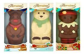 thorntons chocolate figure cheeky elf
