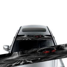 3d Transparent Car Front Windscreen Windshield Window Decal Vinyl Sticker Buy At A Low Prices On Joom E Commerce Platform