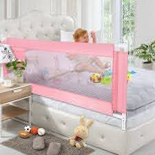 Shop Baby Toddler Bed Rail Guard Safety Adjustable Kids Infant Bed Fence Universal M Overstock 31117617
