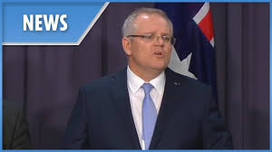 New Australian PM Scott Morrison gives ...