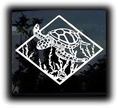 Sea Turtle Decal Sticker Custom Sticker Shop