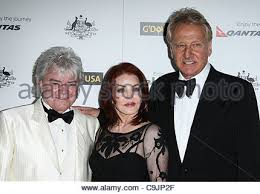 RUSSELL HITCHCOCK & PRISCILLA PRESLEY & GRAHAM RUSSELL G'DAY USA Stock  Photo - Alamy