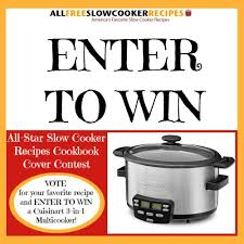 all star slow cooker recipes vote and