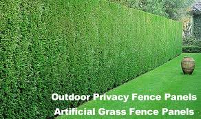 Outdoor Privacy Fence Panels Saglam Fence