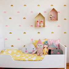 Little Cloud Wall Stickers Wall Decal Diy Home Decoration Wall Stickers In The Nursery Baby Room Wallpaper Kids Decor Wall Decal Cloud Wall Stickers Wall Stickerdecorative Wall Stickers Aliexpress