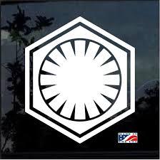Star Wars First Order Window Decal Sticker Custom Sticker Shop Window Decals Shop Window Stickers Car Decals Stickers