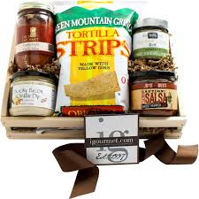 the gourmet market chips and dips gift