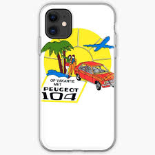 Vintage Peugeot 104 Car Decal Iphone Case Cover By Kustom Redbubble