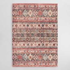 persian stripes area rug