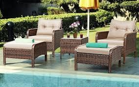 cushions set sofa patio swivel garden