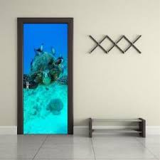 Sea Turtle Ocean Animals 3d Door Wrap Decal Wall Sticker Decor Mural Art 234 Ebay