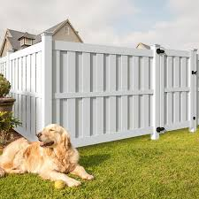 Freedom Birchdale 6 Ft H X 8 Ft W White Vinyl Flat Top Fence Panel In The Vinyl Fence Panels Department At Lowes Com