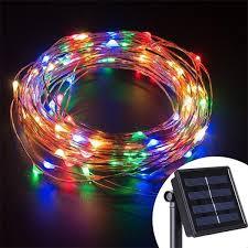 fairy solar led string lights