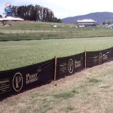 Silt Fence Erosion Control Fencing
