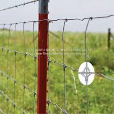 Galvanized High Tensile Fixed Knot Woven Wire Field Fence Of Fence From China Suppliers 160280107