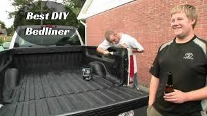 yourself bedliner of top truck spray
