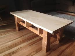 cherry and maple coffee table