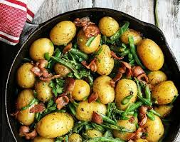 Southern Green Beans and New Potatoes with Bacon - Have A Plant