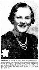 Myrtle Elizabeth Wingo Williamson (1914-1989) - Find A Grave Memorial