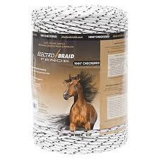 Electrobraid Checkered Horse Fence Conductor Reel 1000 Ft Pbrc1000c2 Eb At Tractor Supply Co