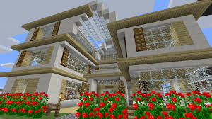 glass house minecraft map