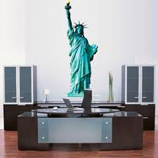 Statue Of Liberty Wall Sticker New York Wall Decor Removable America W American Wall Designs