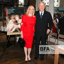 Judy Taubman, A. Alfred Taubman at Dinner Celebrating the 2014 ...