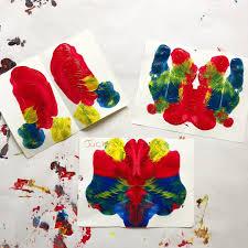 Heart Symmetry Painting | Art activities for kids, Kids art class ...