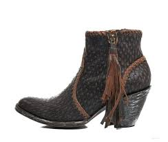 BL1116-21 Old Gringo Adela Brown/Chocolate Leather Ankle Boots ...