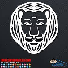 Awesome Lion Decal Sticker