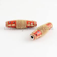 whole oval handmade indonesia beads