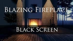 blazing fireplace sleep study relax