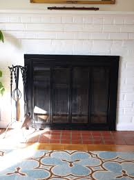 refinishing the fireplace