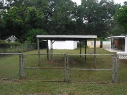 Double Gates To Fenced Backyard Plus 12 X 20 Detached Carport Veteran S Realty Of Augusta