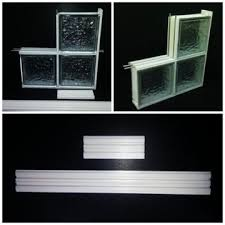 glass block spacer for glass block wall