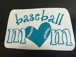 Handmade Baseball Mom Vinyl Decal Ebay