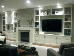 tv built in wall fireplace built in