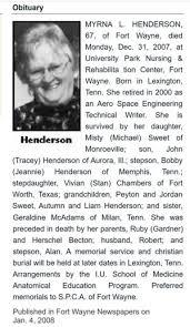 Myrna Loy (Becton) Henderson (1940-2007) | WikiTree FREE Family Tree
