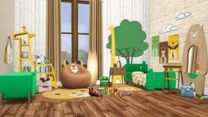 Roarsome Kids Bedroom By Peacemaker Ic Liquid Sims